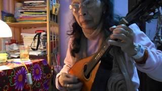 CHIẾC ÁO BÀ BA--Trần thiện Thanh - Mandolin Việt Dung