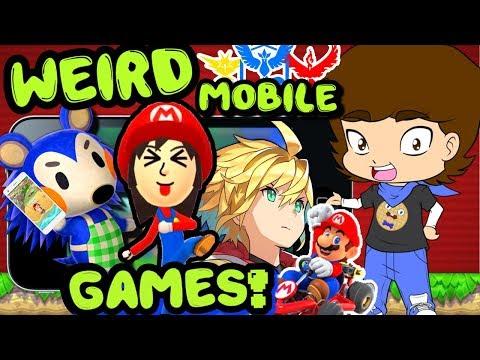 Nintendo's WEIRD Mobile Games - ConnerTheWaffle