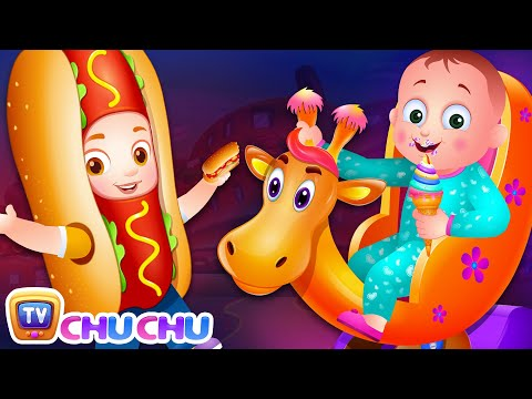 Food Alphabets ABC Phonics Song - A For Apple Pie - Alphabet Rhymes with Sounds for Children