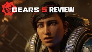 Gears 5 Review - The World's Biggest Chainsaw Party (Video Game Video Review)