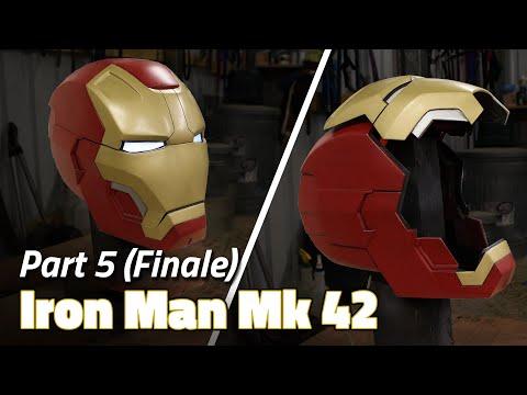 Paint and Electronics (Finale) | Iron Man Helmet Build - Part 5