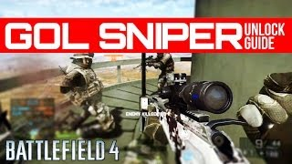Easily unlock the GOL Magnum Sniper - Battlefield 4