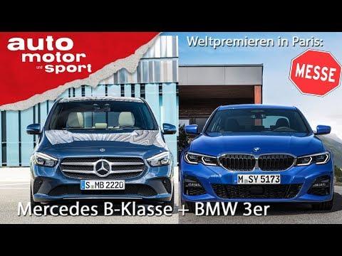 Weltpremierenfieber in Paris: Alle Neuen von Mercedes, BMW und Audi |  auto motor und sport