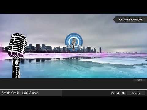 zaskia-gotik---1000-alasan-(-seribu-alasan-)---karaoke-lirik-dangdut
