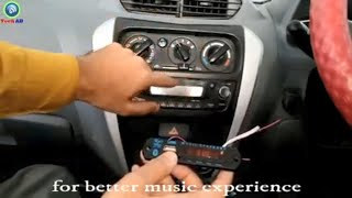 how to install Bluetooth module in car music system || alto 800