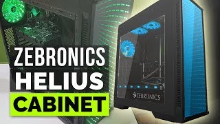 Zebronics Helius gaming PC cabinet review and unboxing for Indian Gamers