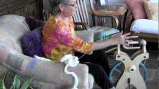 Repeat youtube video From Start To Finish: Cotton Spinning On A Wheel