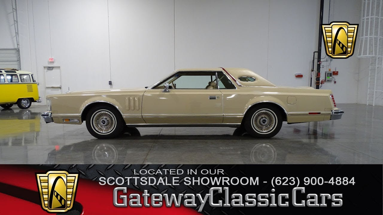 1979 Lincoln Continental Mark V #95 Gateway Classic Cars - YouTube
