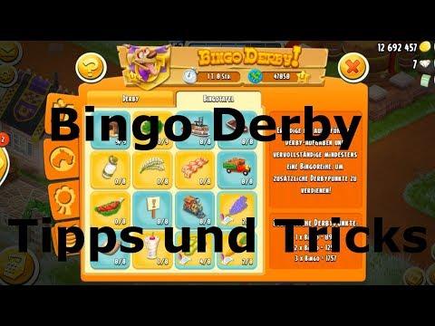 Bingo Derby Tipps Und Tricks - 2 Mögliche Gute Strategien - Hay Day