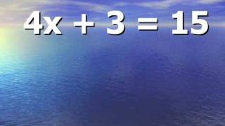 Solving Equations Notes Two Step thumbnail