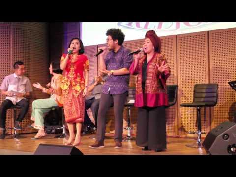 Cinta - Sundari Soekotjo, Rieka Roslan, Kunto Aji & Pesona Jiwa / Press.con #Kedjora2015