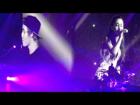 Justin Bieber and Ariana Grande - All That Matters Live (Miami)