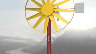 Видео-презентация оборудования для ao-dolina.com, ветронасосная установка ВНУ-1