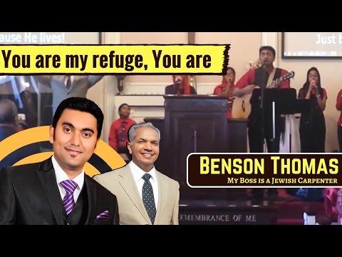 You are my refuge(Nee ente sanketavum) | English Christian Worship | Benson Thomas