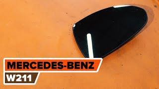Skifte Hovedlykter MERCEDES-BENZ E-CLASS: verkstedhåndbok
