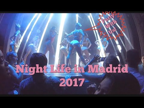 Night Life In Madrid   Clubbing And Festivals  Life In Spain