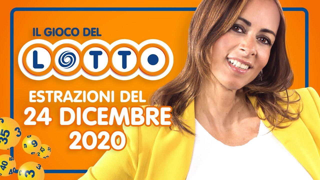 Estrazioni Lotto, Superenalotto e 10eLotto oggi giovedì 31 dicembre 2020