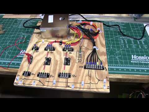 Model Railroad Layout Update Video 13- Computer Power Supply for Model Railroad