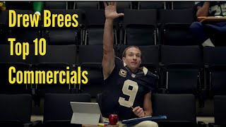 Drew Brees Top 10 Commercials