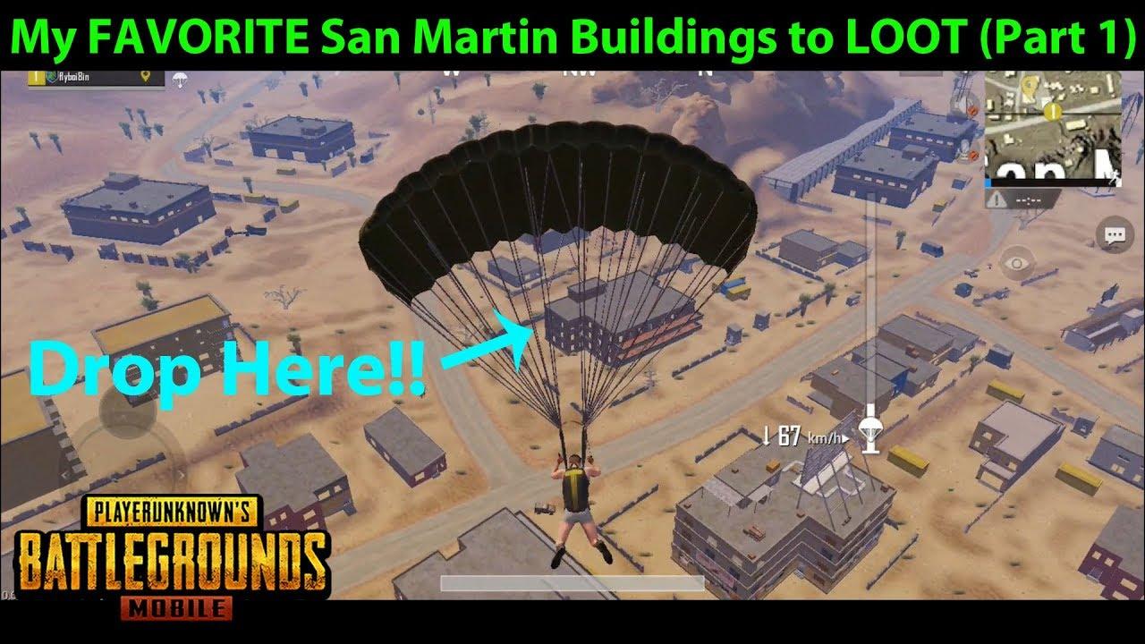 where is san martin in pubg map