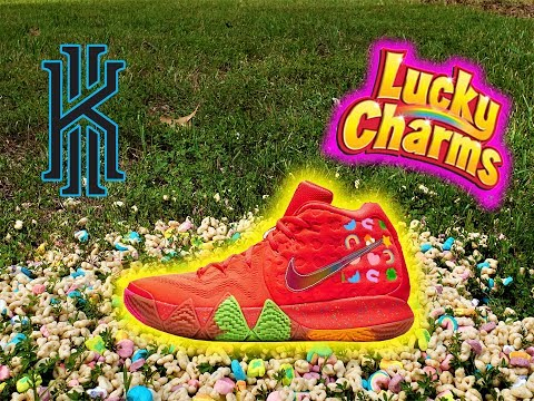 """Nike Kyrie 4 """"Lucky Charms"""" *REVIEW* 