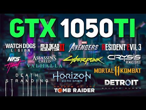 GTX 1050 Ti Test in 20 Games in Early 2021