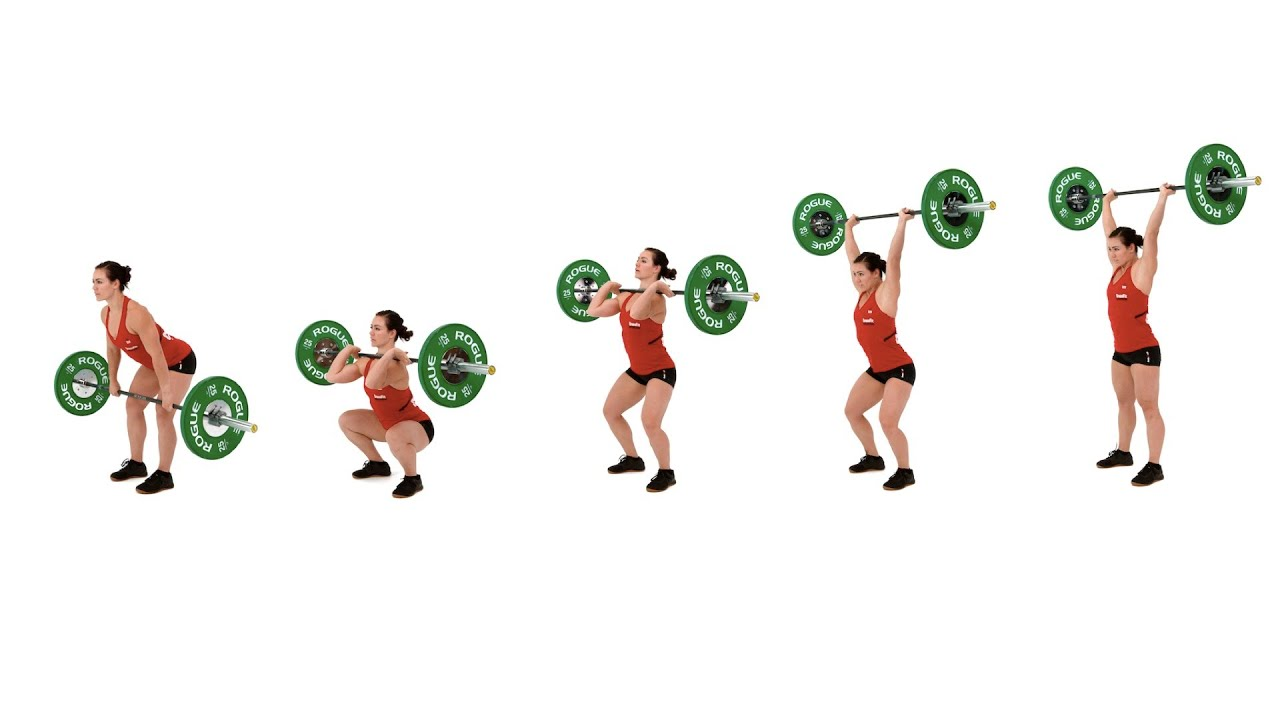 The Hang Clean and Push Jerk