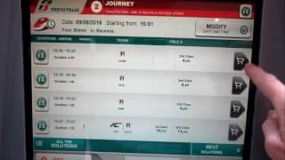 Покупка билета на поезд в Италии(, 2016-06-19T17:40:45.000Z)