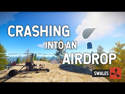 CRASHING INTO AN AIRDROP - RUST thumbnail