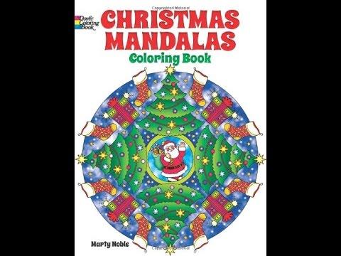flip through dover christmas mandalas coloring book by marty noble - Christmas Mandalas Coloring Book