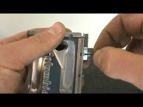 Columbia Taping Tools Anglehead Repair Video Part 4