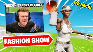 I STREAM SNIPED FASHION SHOWS with FAMOUS YOUTUBERS (THICC SKINS ONLY)