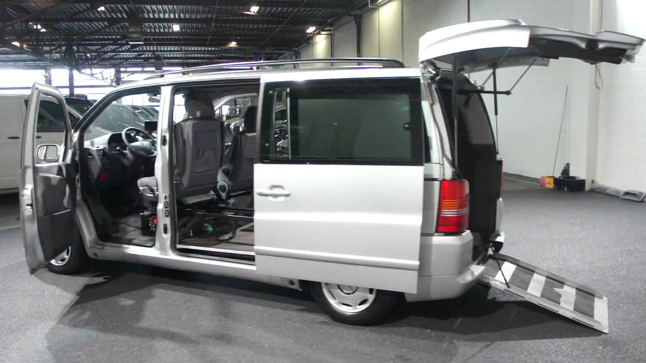 mercedes v220 cdi trend rolstoelvervoer zelfrijder automaat derks autobedrijf bv youtube. Black Bedroom Furniture Sets. Home Design Ideas