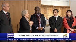 PHÓNG SỰ CỘNG ĐỒNG: Chào mừng vợ chồng LS Nguyễn Văn Đài đến Thuỵ Sĩ