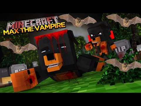 how to turn into a vampire in minecraft