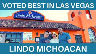 Lindo Michoacán: Voted BEST Mexican Restaurant in Las Vegas.