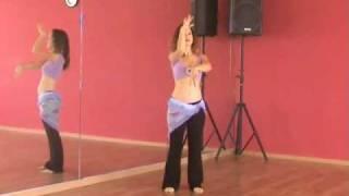 Belly Dance Lesson #1 - BellyDanceBoulevard.com Dancing Lessons
