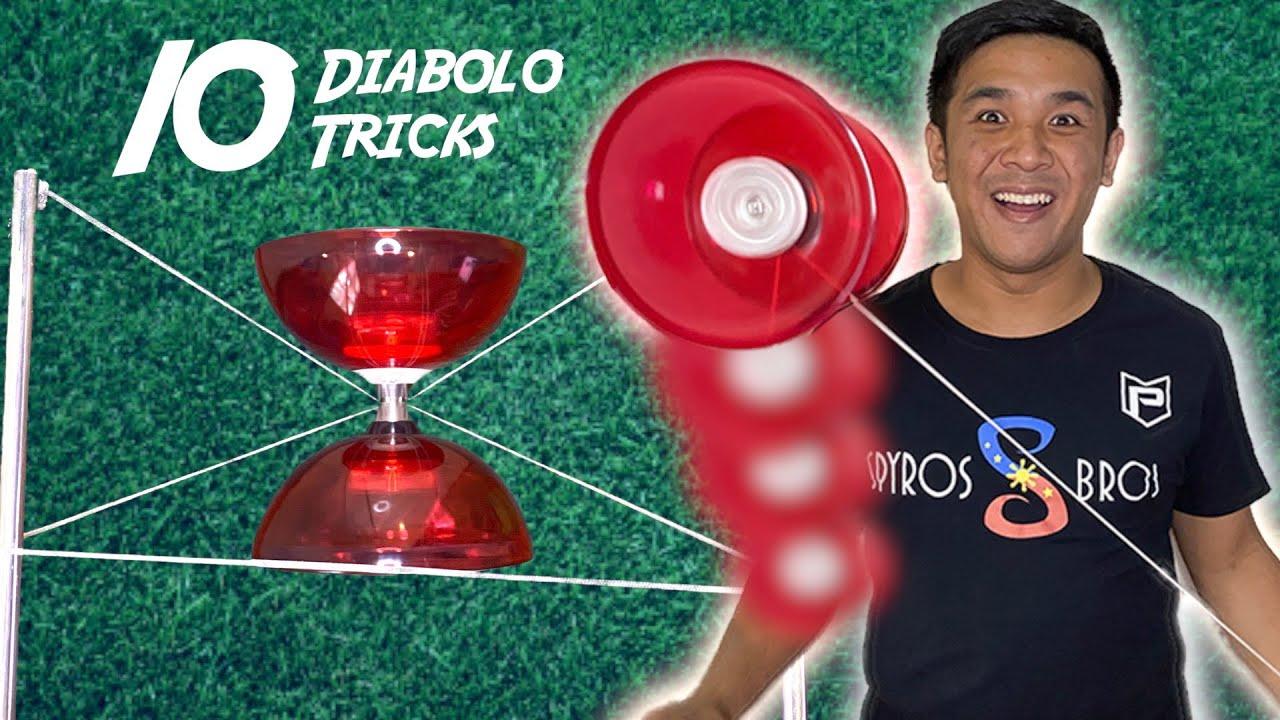 Download Learn 10 Diabolo Tricks in 5 Minutes (Beginners) | Diabolo Tutorial #1