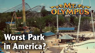 Mt. Olympus Theme & Water Park Review Wisconsin Dells, Wisconsin