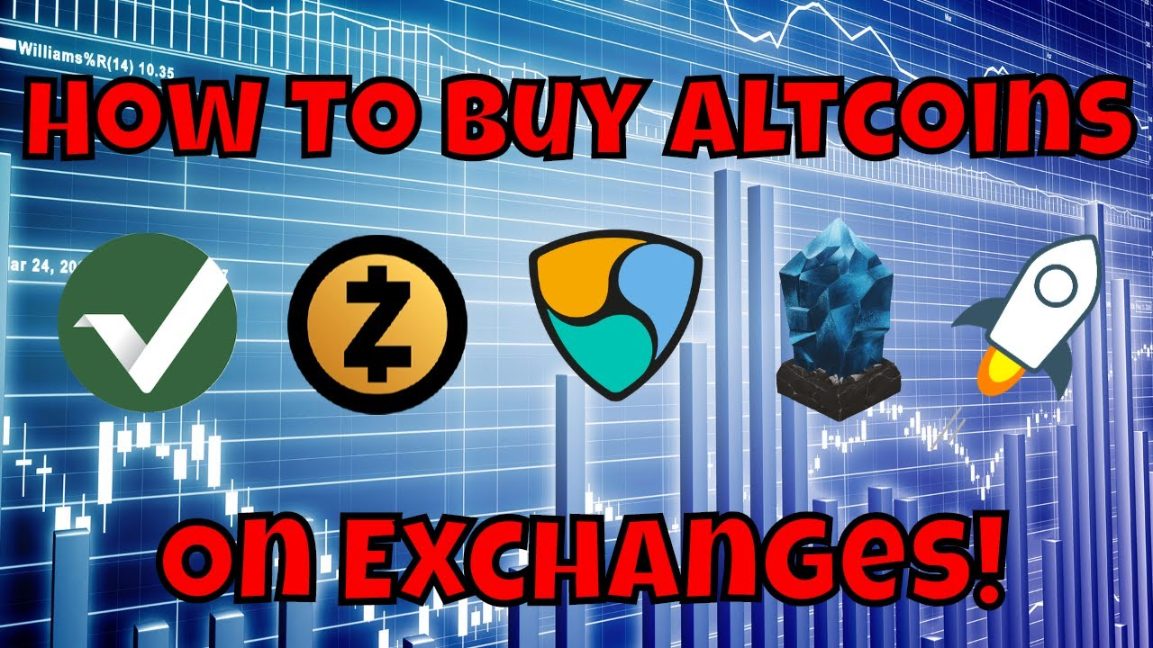 how to buy altcoins on bittrex