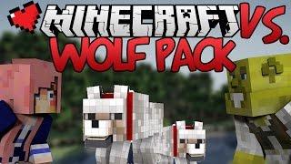 Wolf Pack Challenge | Minecraft VS. Ep 13