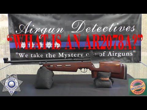Beeman AR2078A Co2 Target Air Rifle