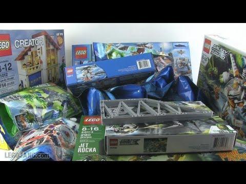 LEGO X-Mas in May part 1! Hero Factory, Chima, Coast Guard, Galaxy Squad!