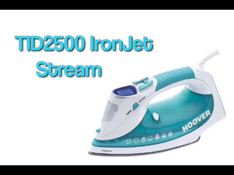 Quick Review: Hoover TID2500 IronJet Steam Iron.