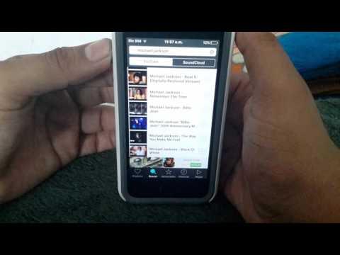Descargar musica gratis desde tu iphone ios 9.3