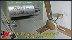 EASY WAY TO INCREASE THE FAN SPEED