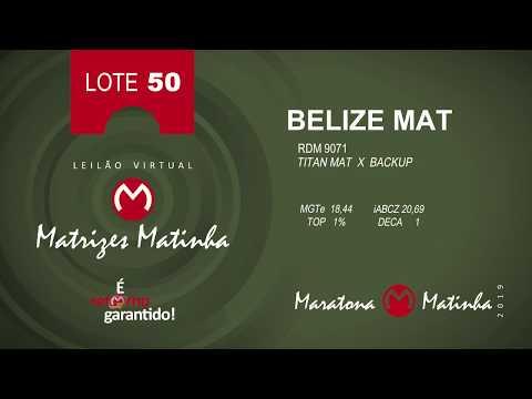 LOTE 50 Matrizes Matinha 2019
