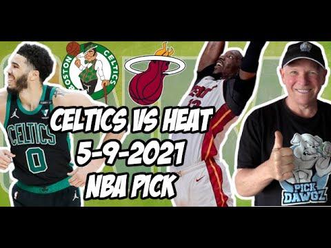 Boston Celtics vs Miami Heat 5/9/21 Free NBA Pick and Prediction NBA Betting Tips