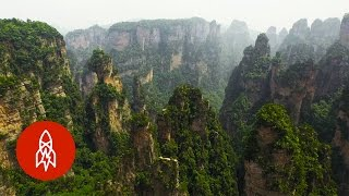 Float Above the Sandstone Spires That Inspired 'Avatar'