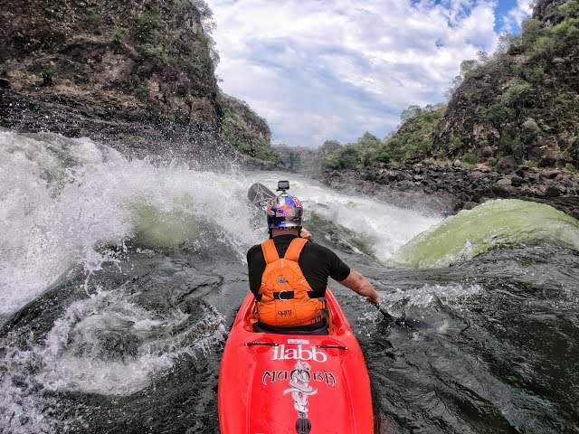 Kayaking the Zambezi River with the GoPro Hero6 & GoPro Karma Drone.